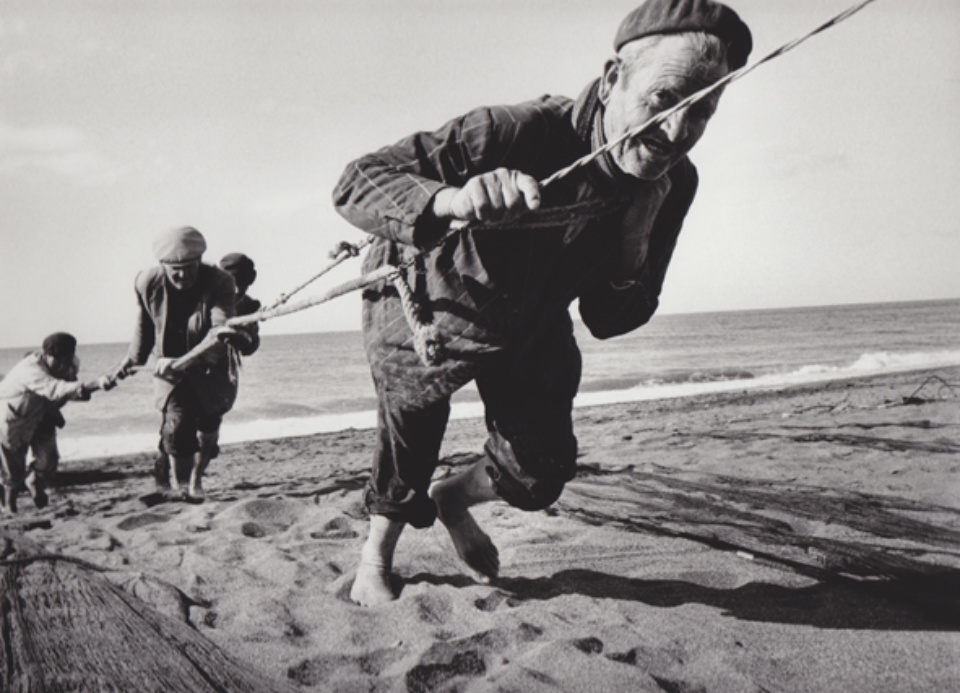 Robert Lebeck Fischer bei Malaga Spanien, 1964 Gelatin Silver Print Printed later Signed, titled and dated