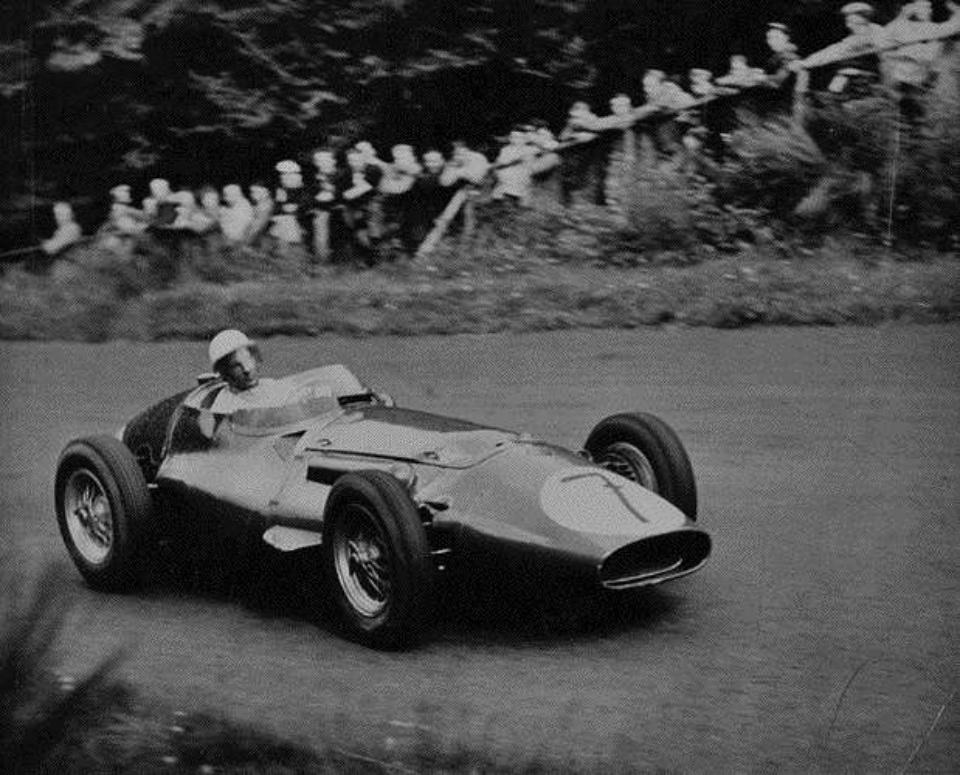 Rolf Ambor Stirling Moss Nürburgring, 1956 Gelatin Silver Print
