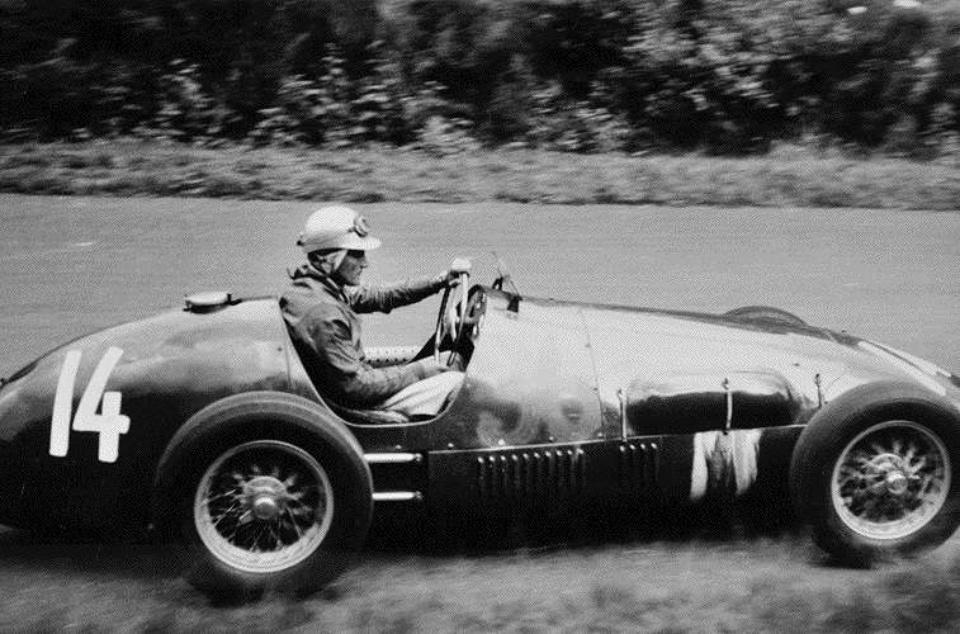 Rolf Ambor Scalatti Grand Prix Deutschland, 1956 Gelatin Silver Print