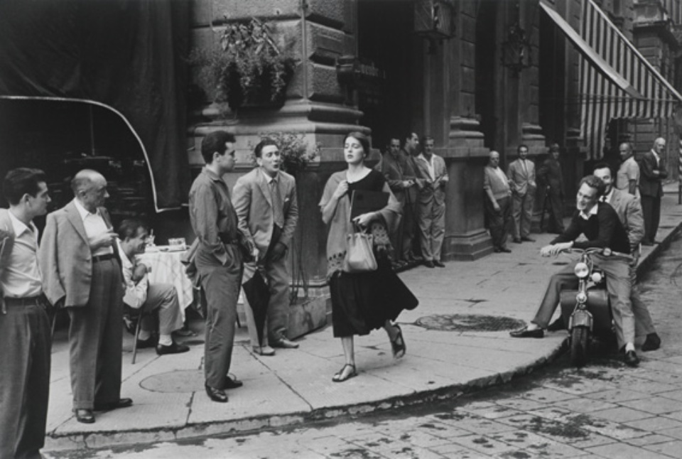 Ruth Orkin: American Girl in Italy Florence, 1951 Gelatin silver print, printed later Embossed on recto