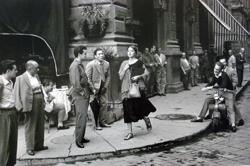 Ruth Orkin: American Girl in Italy Florence, 1951 Gelatin silver print, printed later Estate stamp on verso