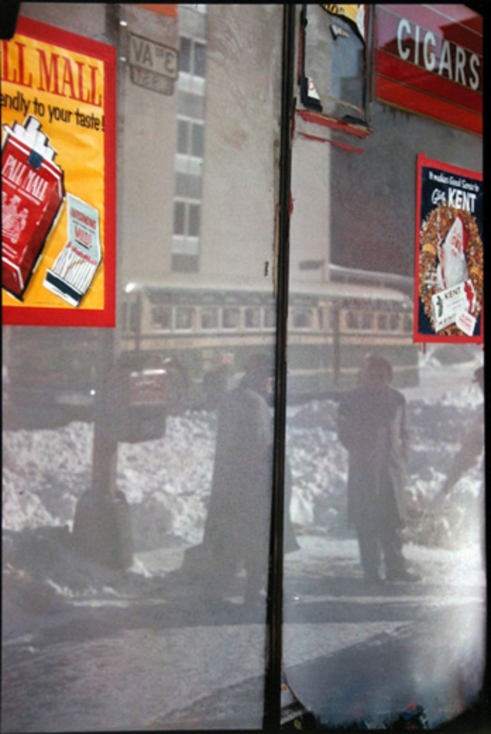 Saul Leiter Snow Scene 1960 Chromogenic print, printed later 50 x 40 cm Ed. 10