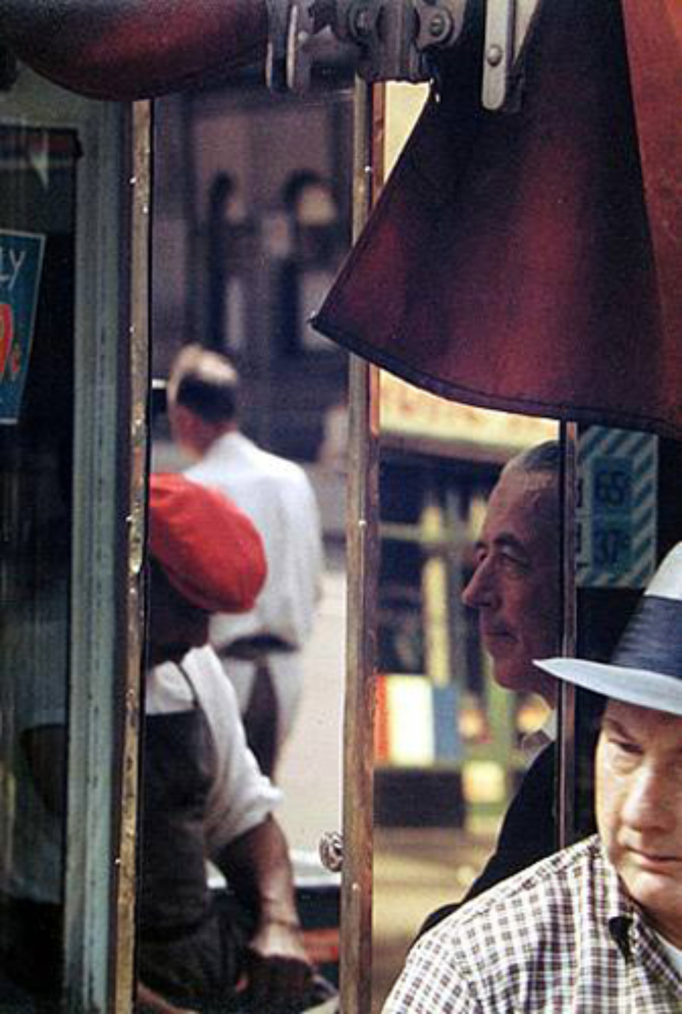 Saul Leiter Reflection 1958 Chromogenic Print, printed later Signed on verso 35 x 28 cm