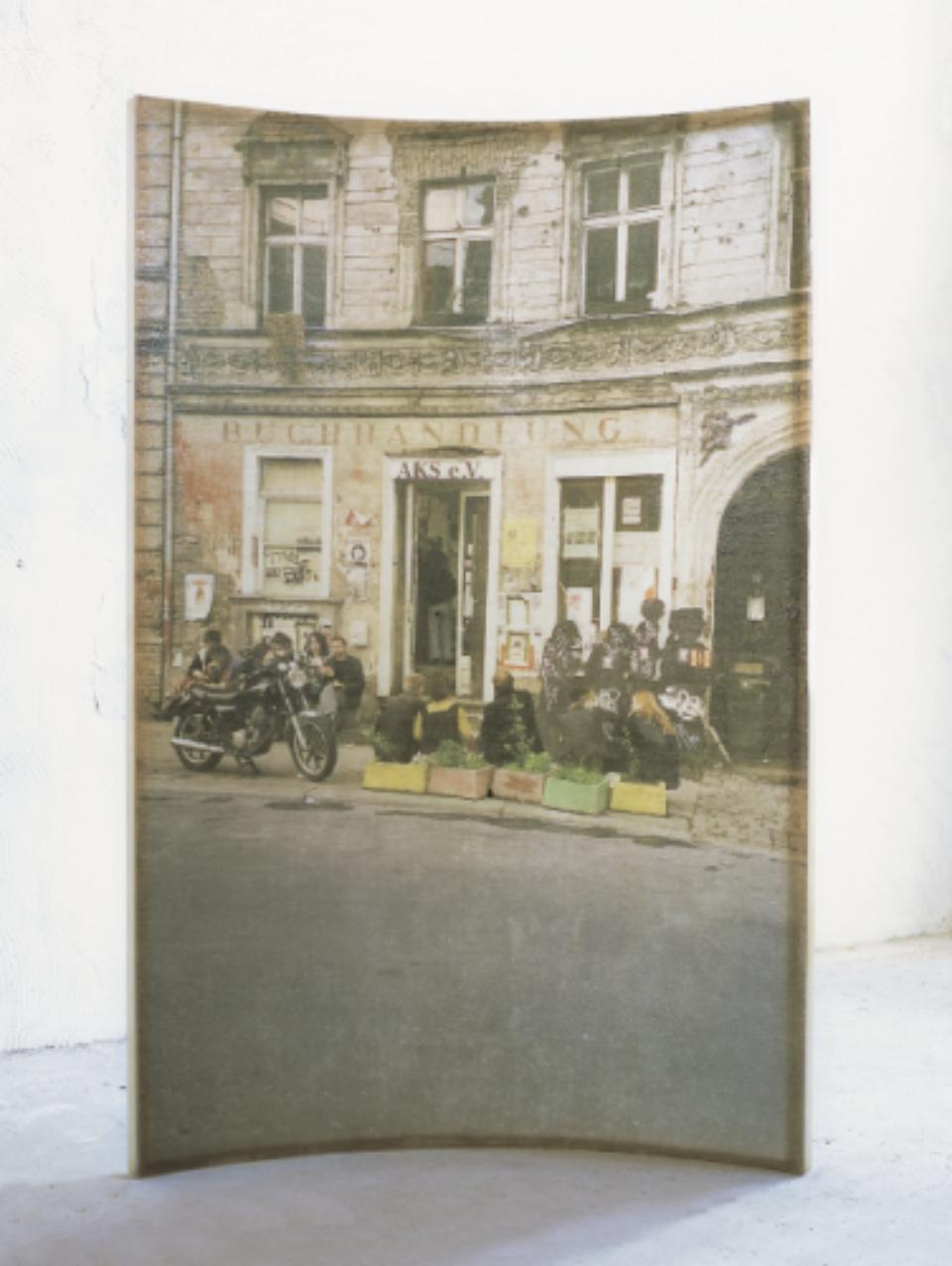 Amador: L'home i la ciutat 1994, 240 x 153 x 35 cm