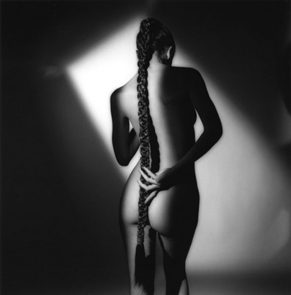 Jeanloup Sieff Back is Beautiful Gelatin SIlver Print 40,5 x 30,5 cm