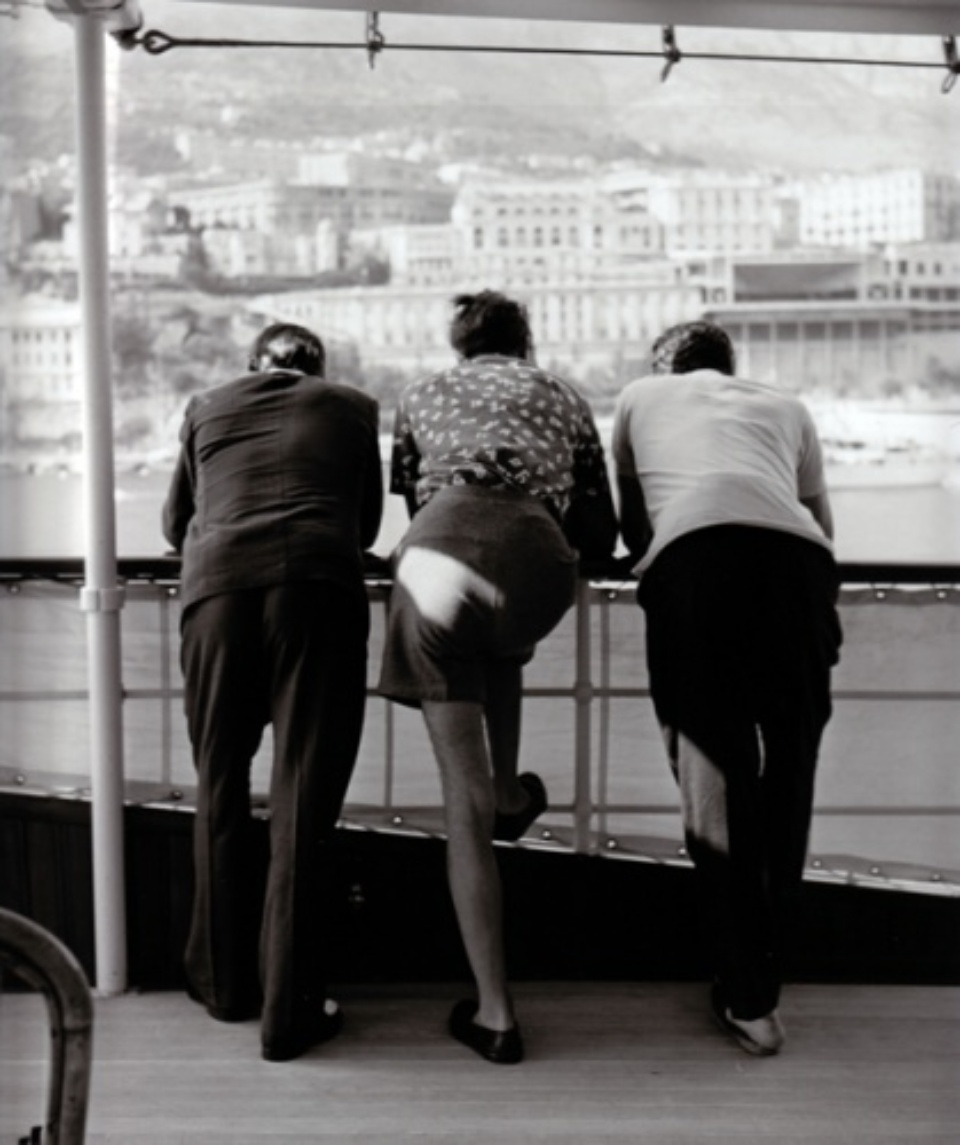 Slim Aarons: Onassis On Board Monte Carlo, 1958 Silver Gelatin Archival Fibre Print 30 x 25 cm Limited edition