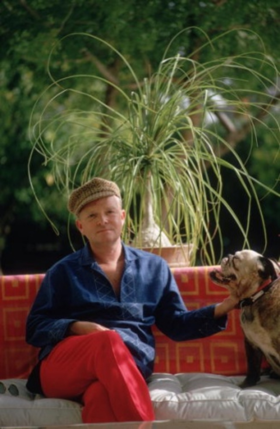 Slim Aarons: Truman Capote Palm Springs/California, c. 1970 50 x 40 cm