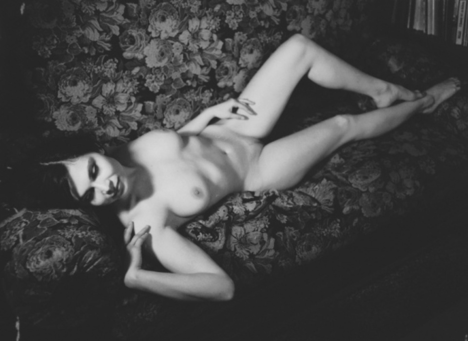 Female Nude on Couch 2005