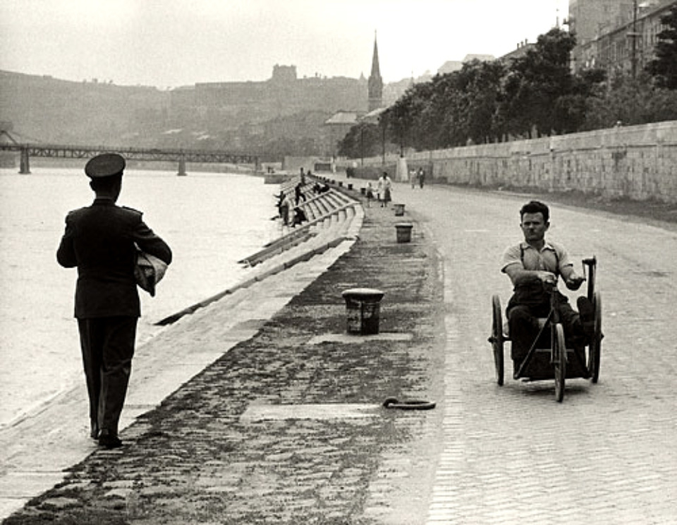 Jean Marquis: The Danube River Budapest, Hungary, 1954