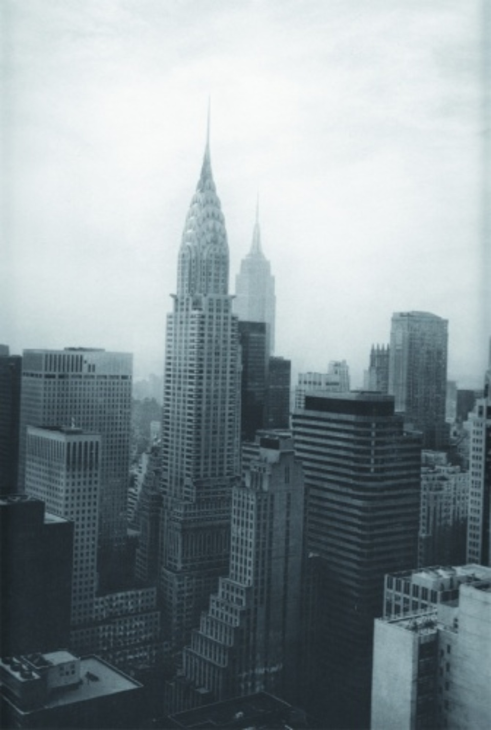Tom Baril: New York Skyline 1995 Photogravure Signed, titled and dated 26 x 32,5 cm