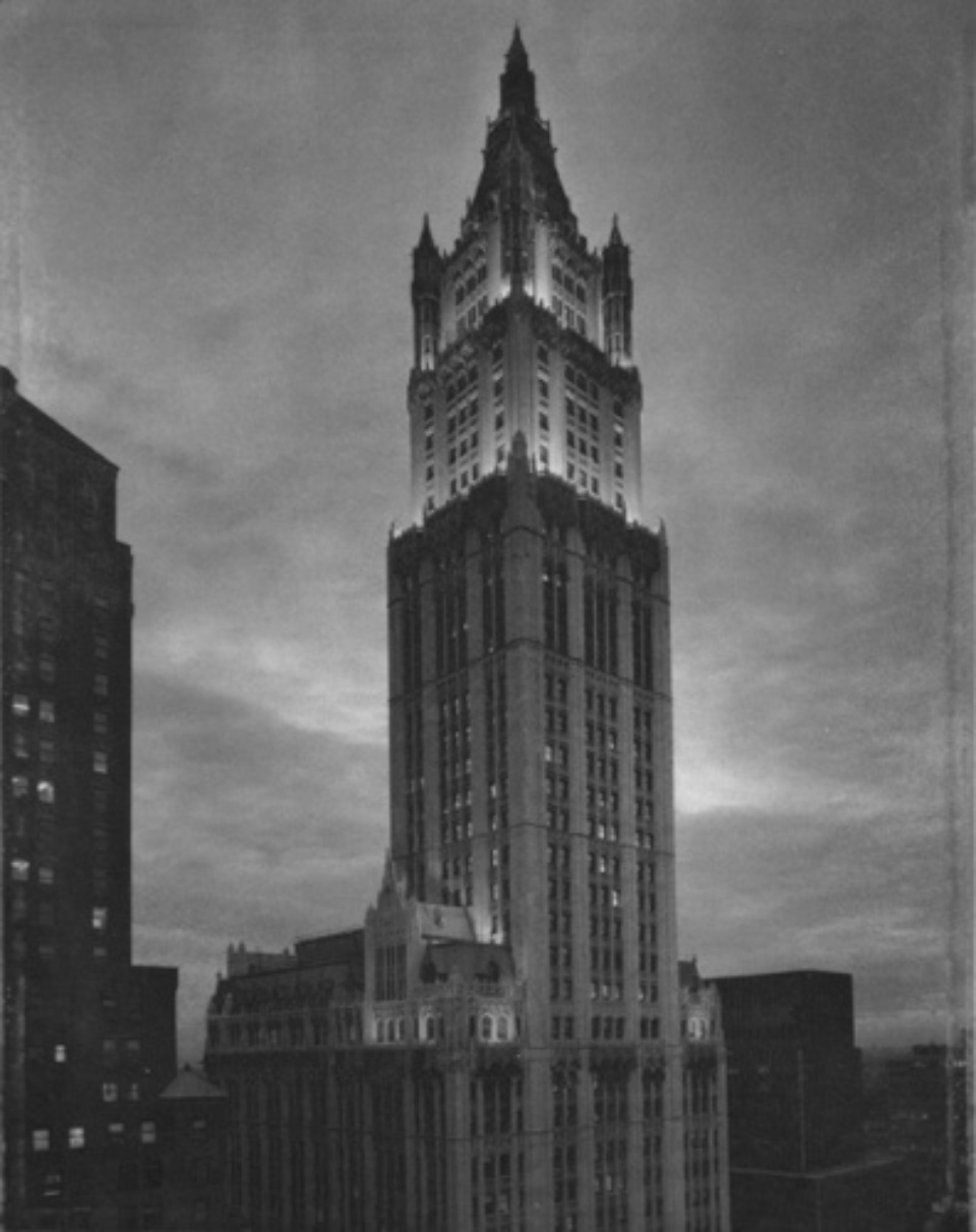 Tom Baril: Woolworth Building New York, 1997 Photogravure Signed, titled and dated AP 18 x 22,5 cm