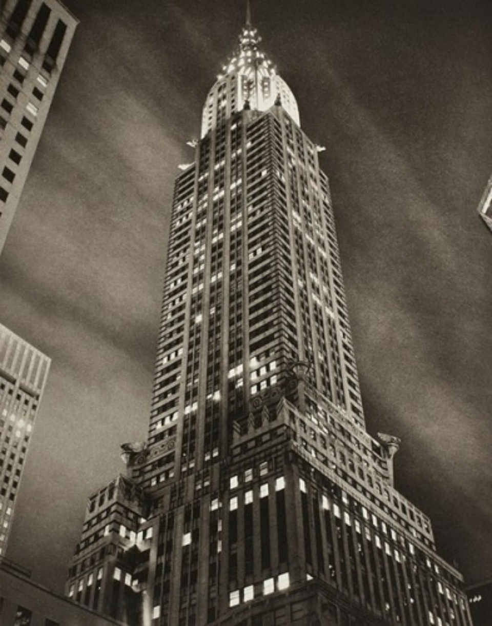 Tom Baril: Chrysler Building at Night 1997 Signed,titled and dated on recto Gelatin silver print AP 4/5