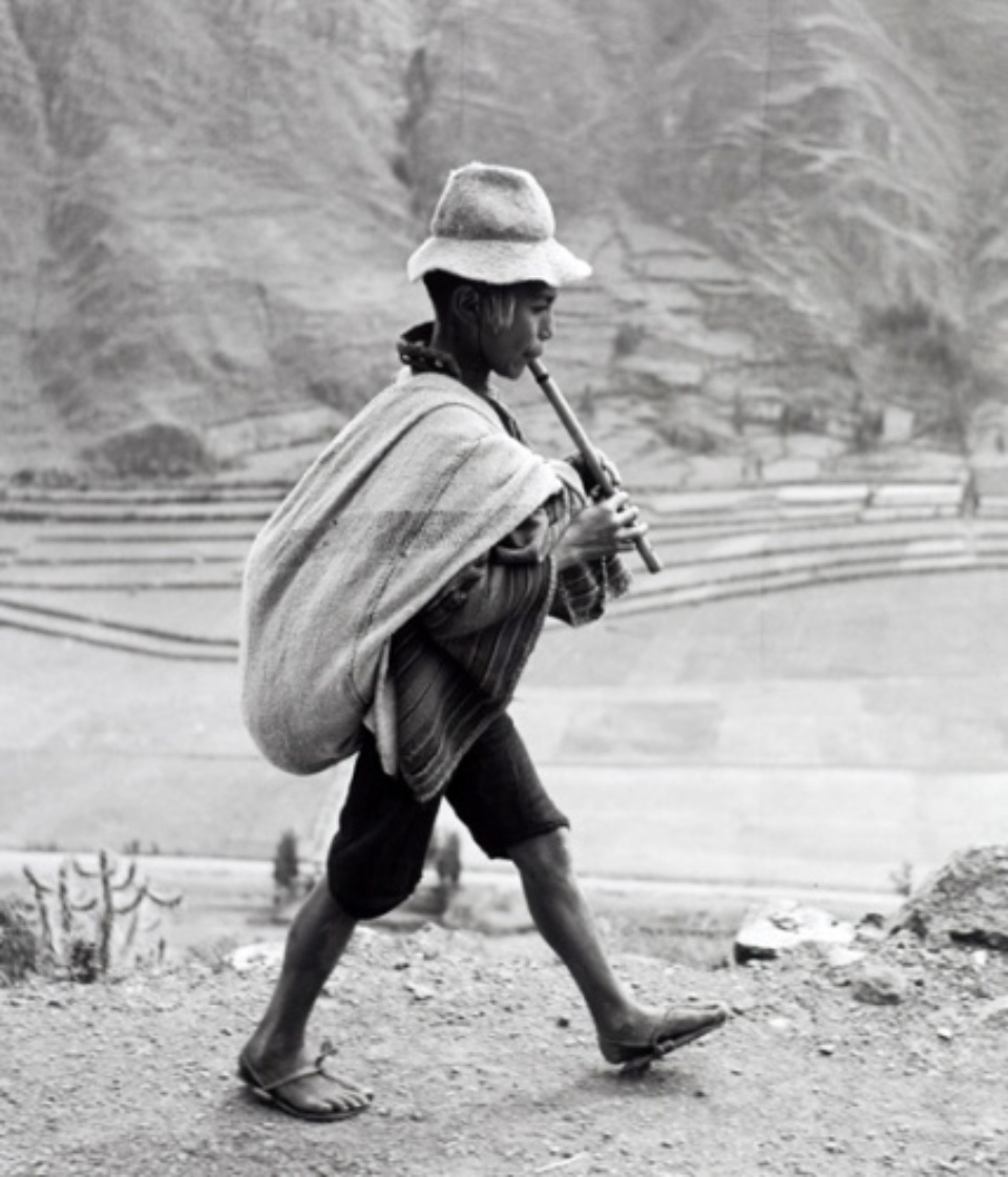 Werner Bischof: On the Way to Cuzco Peru, 1954 Gelatin silver print, printed 2008 Estate stamp, signed by Marco Bischof 50 x 40 cm