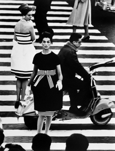 William Klein Simone & Nina Piazza di Spagna, Rome, 1960 Signed, titled and dated on verso Gelatin siver print, printed later