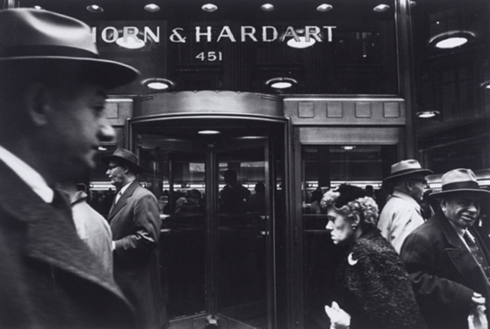 William Klein Horn & Hardart & Grimace 1954-1955 Signed, titled and dated on verso Gelatin silver print, printed later
