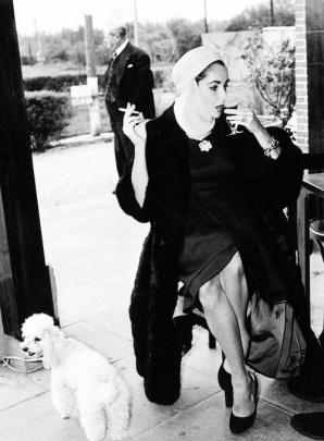 Stanley Sherman: Liz Taylor New Jersey, 1957