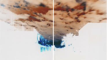 Maciej Markowicz: Sunrise at Johnson Street Brooklyn, New York, May 9th 2016, Diptych: Two Unique Chromogenic Paper Negatives 127 x 153.5 cm