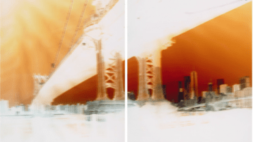 Maciej Markowicz: Manhattan Bridge at John Street Brooklyn, New York, March 18th 201 127 x 153.5 CM