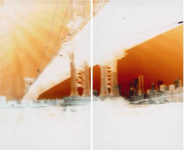 Maciej Markowicz: Manhattan Bridge at John Street Brooklyn, New York, March 18th 201 127 x 153.5 CM