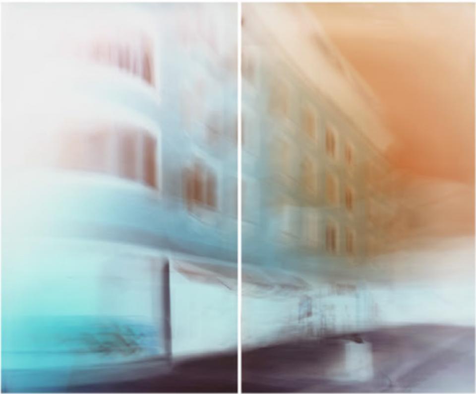 Maciej Markowicz: 7th Avenue at Perry Stree Manhattan, New York, July 23rd 2016 127 x 153.5 cm