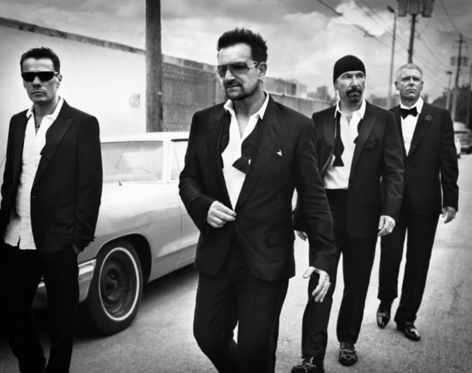 Vincent Peters: U2 New York, 2012 Modern fine art print Signed Ed. 5