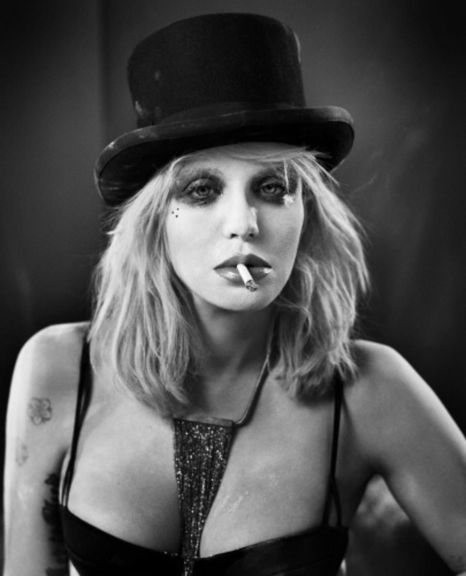Vincent Peters: Courtney Love New York, 2013 Modern fine art print Signed Ed. 5