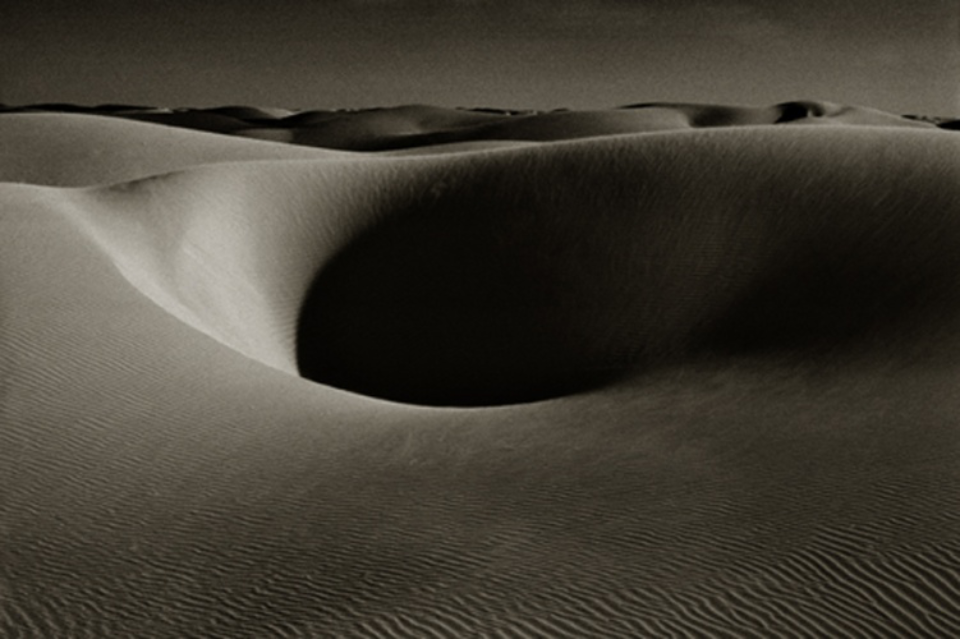 Albert Watson: Sand Dunes III, Laayoune Morocco, 1998 Archival pigment print Signed, titled, dated and numbered on verso 61 x 76 Ed. 25