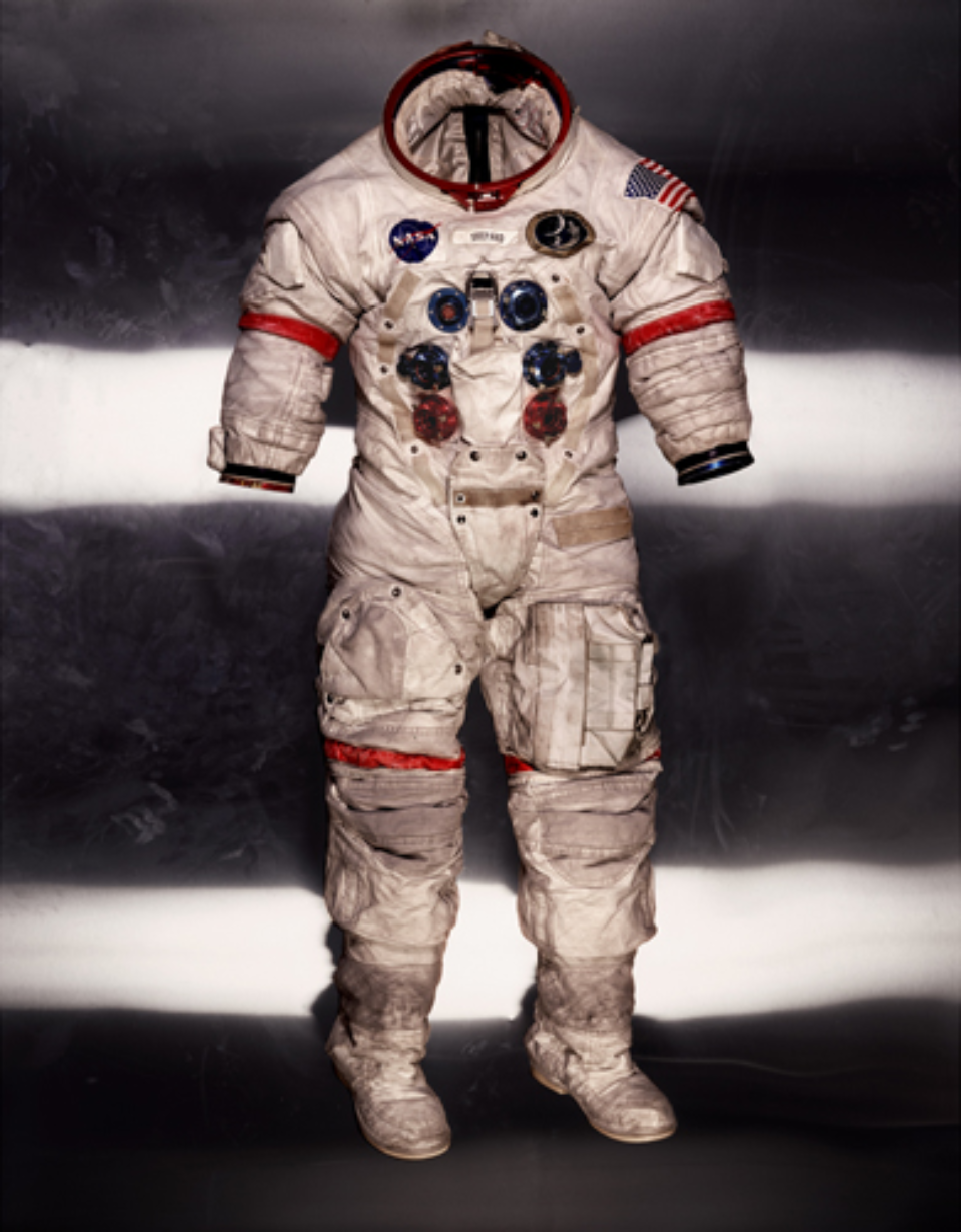 Albert Watson: Alan Shepard's Lunar Suit Apollo 14, NASA, 1990 Artist label on verso Archival pigment print 142 x 107 cm Ed. 10