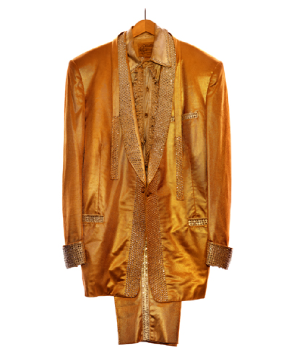 Albert Watson: Elvis Presley's Gold Lame Suit Graceland, Memphis, 1991 Signed, titled and dated C-Print Ed. 5/25