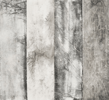 Zheng Chongbin: Four Definitions No. 2 2012 Ink, acrylics and wash on xuan paper L 190 cm x H 178 cm