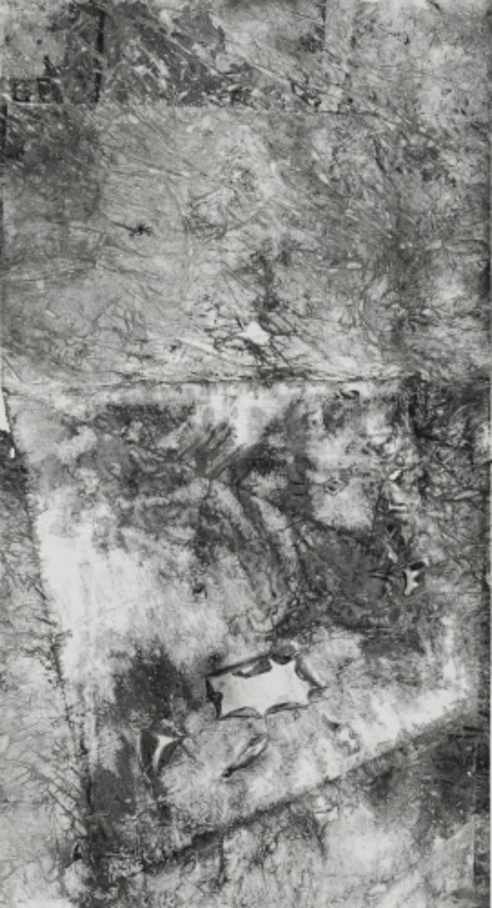 Zheng Chongbin: Dissolved Prime form ( b ) 2012 In, acrylics and wash on xuan paper L 92.5 cm X H 188 cm