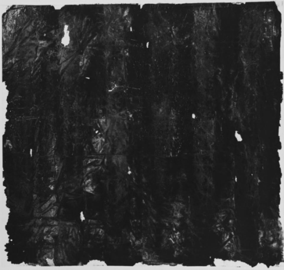 Zheng Chongbin: Untitled 2011 Ink, acrylics and wash on xuan paper L 190 cm x H 178 cm