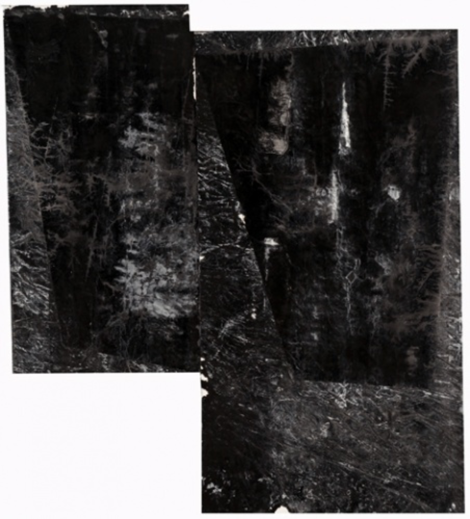 Zheng Chongbin: Phase B behind phase A 2012 Ink acrylics and wash on xuan paper L 165 cm x H 171 cm