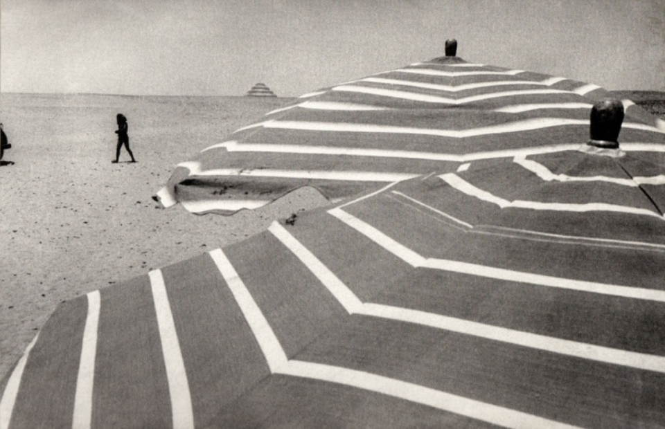 Ernst Haas: On the Set of Land of the Pharaohs Egypt, 1954