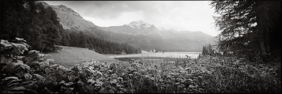 Christopher Thomas: Lake Silvaplana II 2013 Engadin
