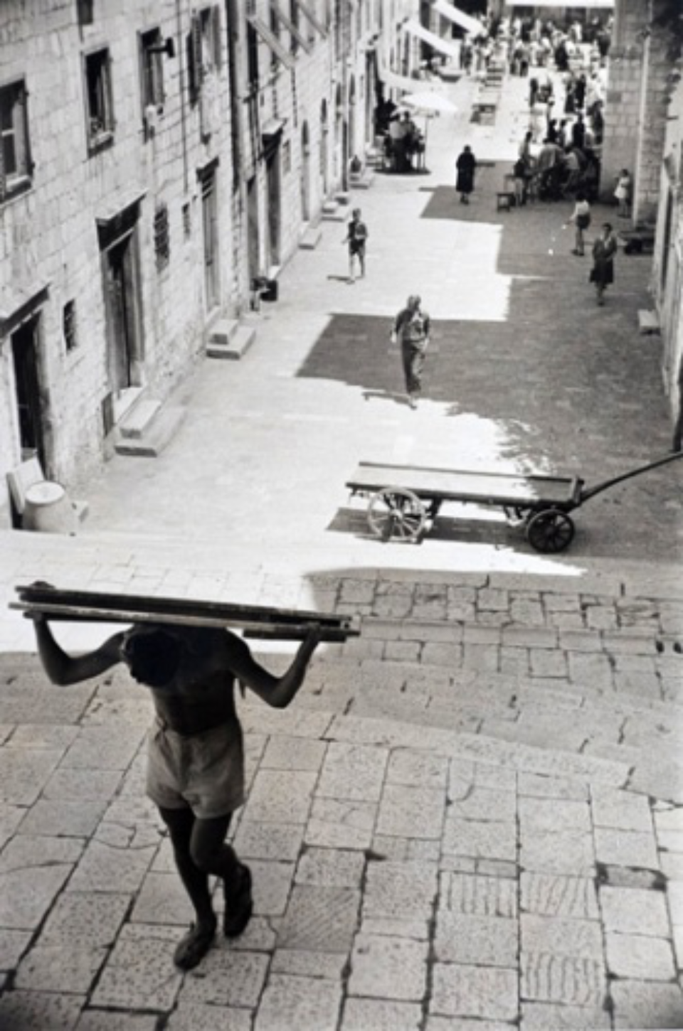 Marc Riboud: Dubrovnik Dalmatia, 1953 Gelatin siver print, printed later Signed, titled and dated on recto Artist stamp on verso 30 x 20 cm