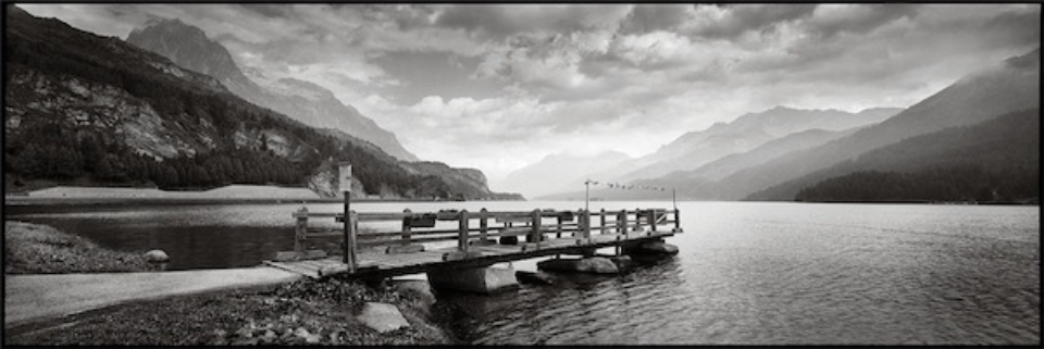 Christopher Thomas: Lake Silvaplana 2013 Engadin