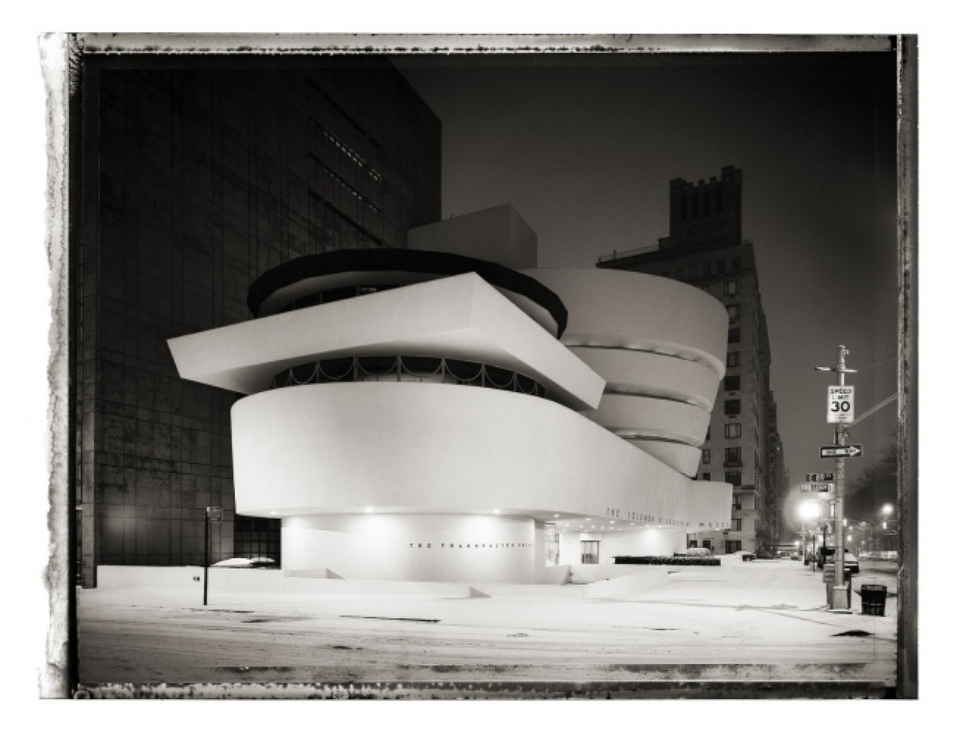 Christopher Thomas: Solomon R. Guggenheim Museum new york sleeps