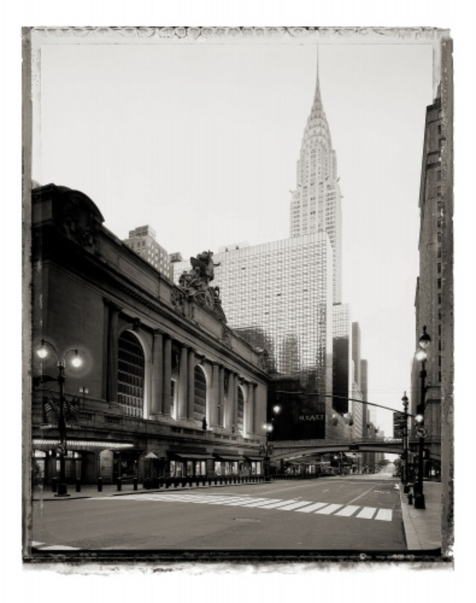 Christopher Thomas: Grand Central Terminal and Chrysler Building new york sleeps