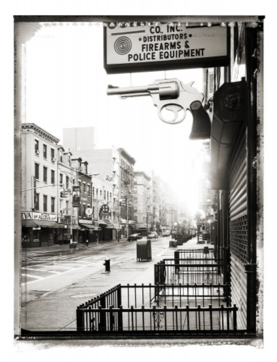 Christopher Thomas: Grand Street new york sleeps