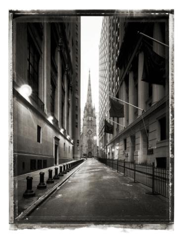 Christopher Thomas: Wall Street new york sleeps