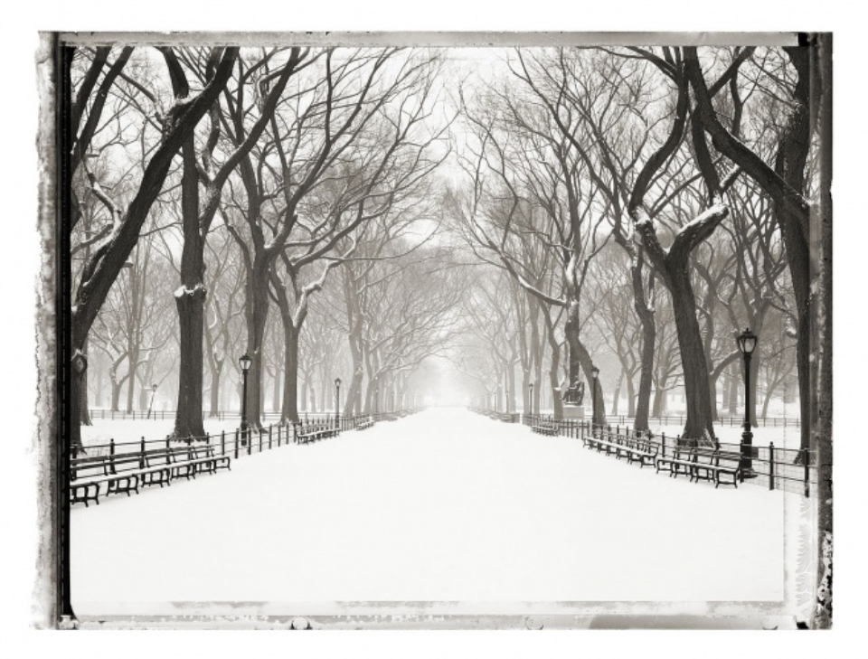 Christopher Thomas: Central Park, The Mall II new york sleeps