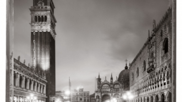 Christopher Thomas: Frontispiz Piazzetta San Marco I 2010 venice in solitude