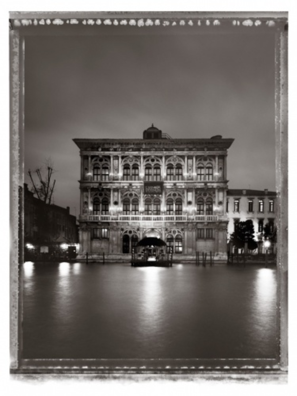 Christopher Thomas: Palazzo Vendramin Calergi 2010 venice in solitude