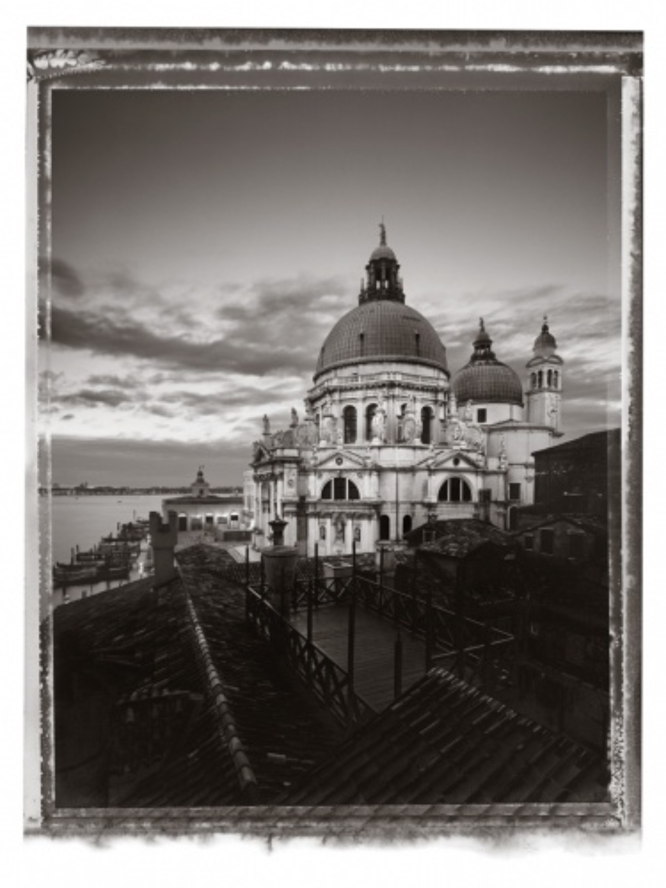 Christopher Thomas: Santa Maria della Salute I 2010 venice in solitude