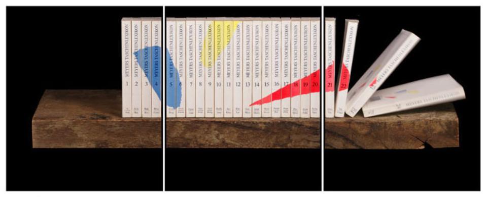 Joachim Froese: Written in the past 5 2007 3 archival pigment inkjet prints 45 x 115 cm Ed. 6/12