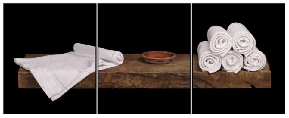 Joachim Froese: Written in the past 7 2007 3 archival pigment inkjet prints 45 x 115 cm Ed. 6/12