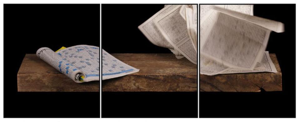 Joachim Froese: Written in the past 10 2007 3 archival pigment inkjet prints 45 x 115 cm Ed. 6/12