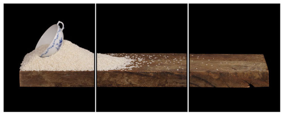 Joachim Froese: Written in the past 3 2007 3 archival pigment inkjet prints 45 x 115 cm Ed. 6/12