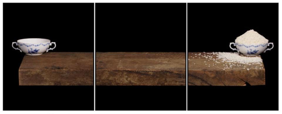 Joachim Froese: Written in the past 2 2007 3 archival pigment inkjet prints 45 x 115 cm Ed. 6/12